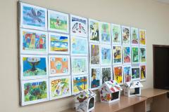 Работы воспитанников Центра детского творчества. п. Хандыга. 2 апреля 2018 г.