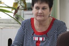 Глава администрации п. Хандыга Любовь Корнеева.  п. Хандыга. 2 апреля 2018 г.