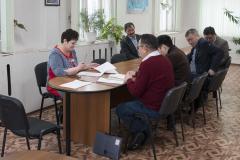 Рабочее совещание в администрации поселка.  п. Хандыга. 2 апреля 2018 г.